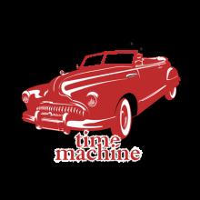 T-shirt Time Machine Retro-17