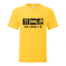 T-shirt Eat,sleep,DJ-F102