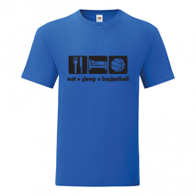 T-shirt Eat,sleep,basketball-F103
