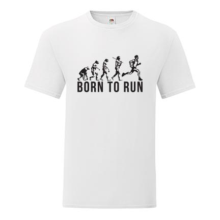 T-shirt Born to run-F104
