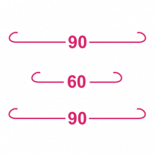 T-shirt 90-60-90-F27