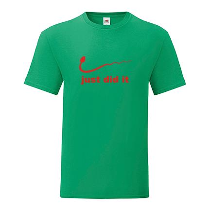 T-shirt Just did it-F30