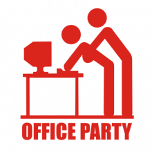 T-shirt Office-party-F31