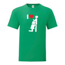 T-shirt I love BJ-F37