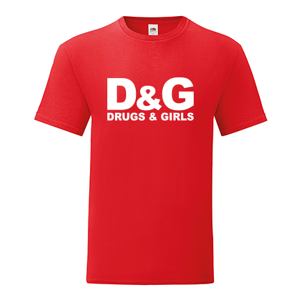 T-shirt Drugs and Girls-F40