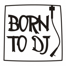T-shirt Born to DJ-F52