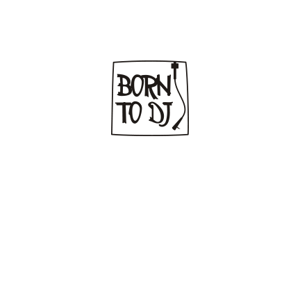 T-shirt Born to DJ-F52