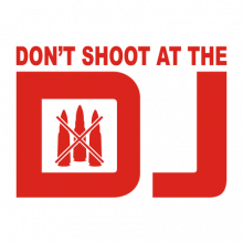 T-shirt Don't shoot at the DJ-F53