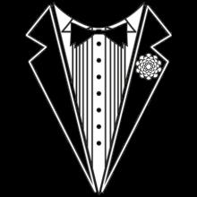 T-shirt Tuxedo-F54