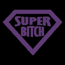 T-shirt Super bitch-F62