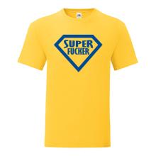 T-shirt Super fucker-F63