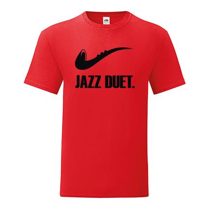 T-shirt Jazz duet-F64
