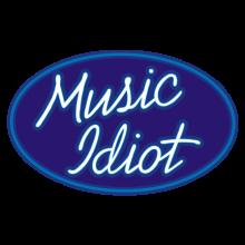 T-shirt Music Idiot-F68