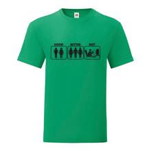 T-shirt Good, better, best-F81
