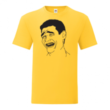 T-shirt Laughing guy meme-F91