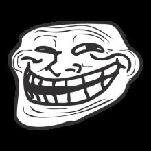T-shirt Laughing face meme-F92