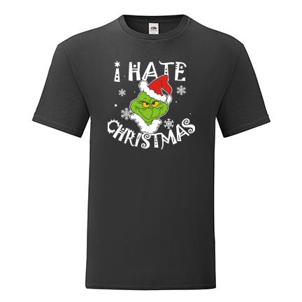 T-shirt I hate Christmas-Grinch-I04