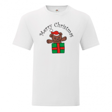 T-shirt Merry Christmas-Teddy bear-I10