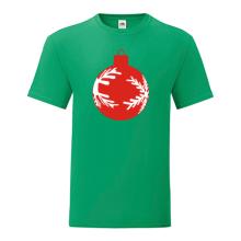 T-shirt-Christmas ball red-I12