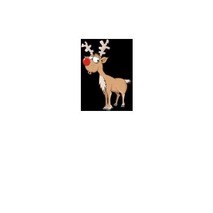 T-shirt-Christmas deer-I13