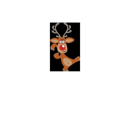 T-shirt Dancing deer-I16