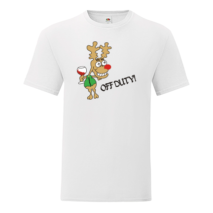 T-shirt-Drunk deer-I17