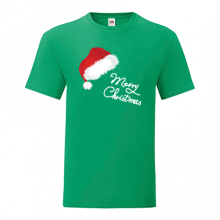 T-shirt-Merry Christmas-Hat-I19