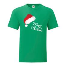 T-shirt-Merry Christmas-Hat-I19