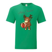 T-shirt-Merry Christmas-Deer-I21