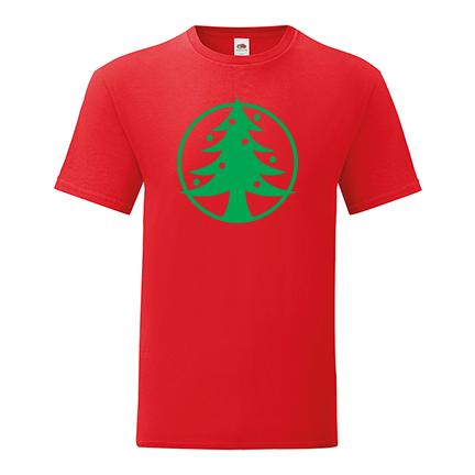 T-shirt Christmas tree-I27