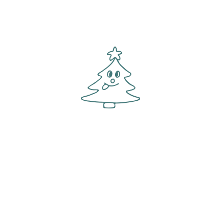 T-shirt Christmas tree-I28