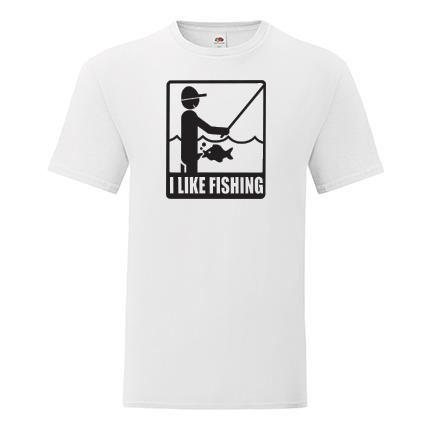 T-shirt I like fishing-J02