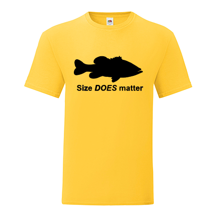 T-shirt Size does matter-J10