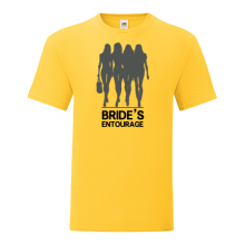 T-shirt for Bachelorette party Bride's entourage-L02