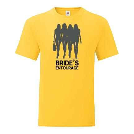 T-shirt for Bachelorette party Bride's entourage-L02
