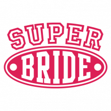 T-shirt for Bachelorette party Super Bride-L03