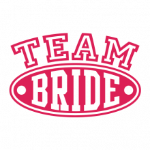 T-shirt for Bachelorette party Team Bride-L04