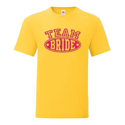 T-shirt for Bachelorette party Team Bride-L04