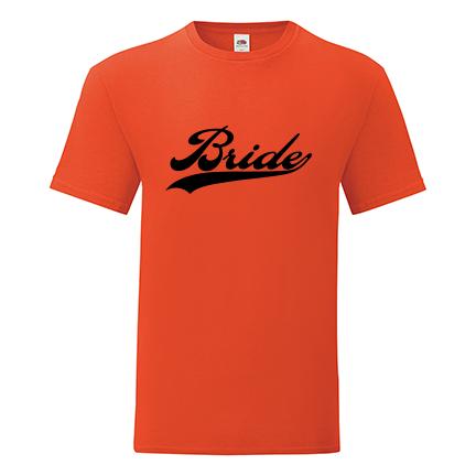 T-shirt for Bachelorette party Bride-L07
