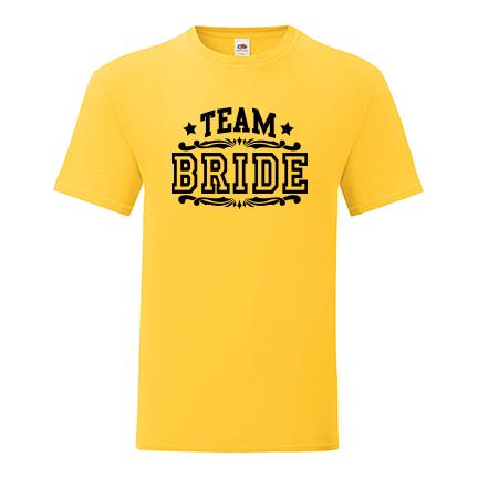 T-shirt for Bachelorette party Team Bride-L09
