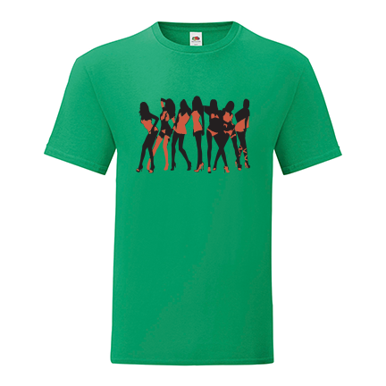 T-shirt for Bachelorette party Strippers-L12