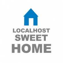 T-shirt Localhost, sweet home-P06