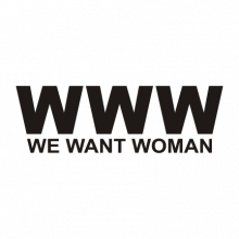 T-shirt WWW-We Want Woman-P12