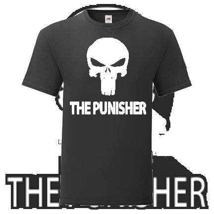 T-shirt The Punisher-Q02