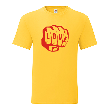 T-shirt Fist love-S01