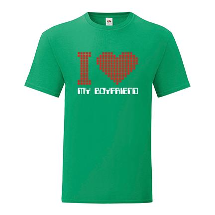 T-shirt I love my boyfriend-S04