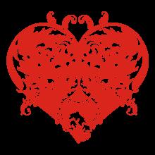 T-shirt Heart-S07