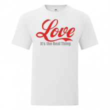 T-shirt Love is the real thing-S08