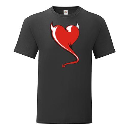 T-shirt Heart devil-S10