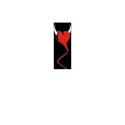 T-shirt Heart devil-S11